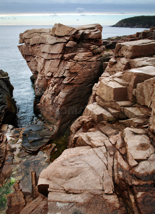 Download Thunder Hole stock photo. Image of nature, serene, park - 7207024