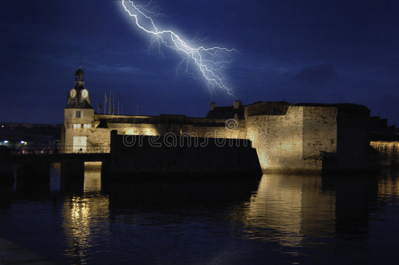 Thunder and Lightning royalty free stock photography