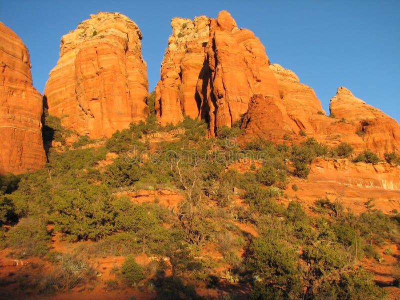 Download Thunder Mountain- Sedona stock image. Image of hike, outdoors - 3893845