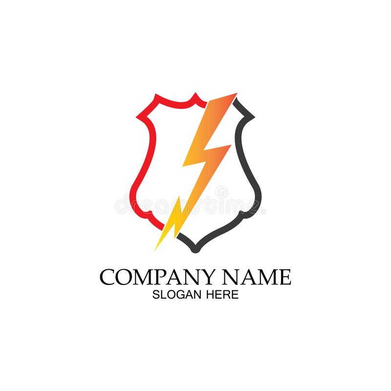 thunder shield vector logo template this graphic suitable for electric business vector stock illustration illustration of graphic electricity 170957122 dreamstime com