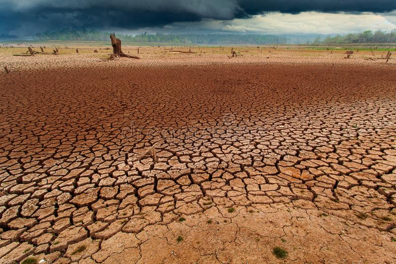 Thunder storm sky Rain clouds Cracked dry land without wate. Arid, cataclysm, catastrophe, change, clay, climate, damage, dead, dirt, disaster, dramatic stock images