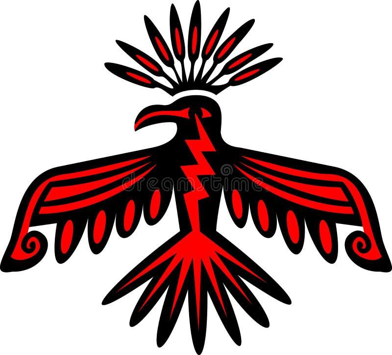 Free Thunderbird - Native American Symbol Stock Image - 29725251