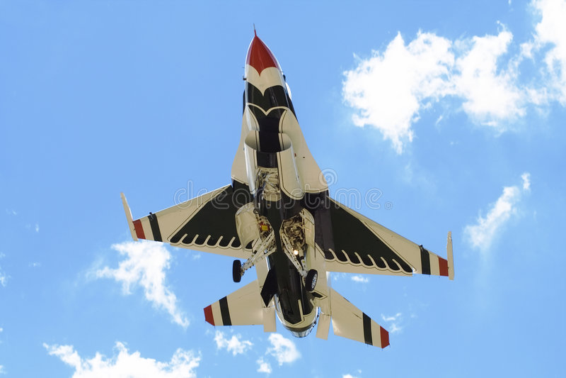 - thunderbird strumienia zdjęcia stock