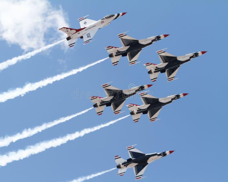 Thunderbirds stock foto's