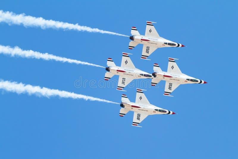 Thunderbirds stock fotografie