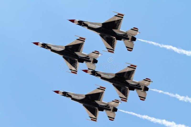 Thunderbirds stock foto