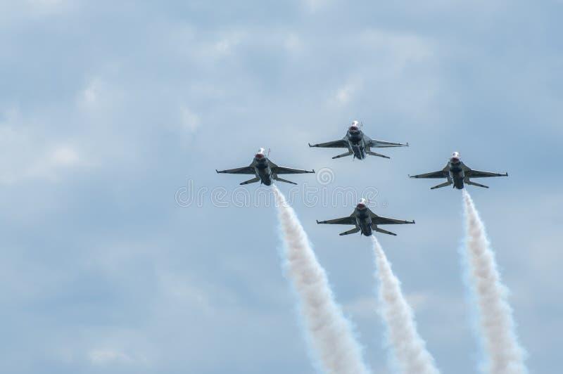 Thunderbirds royalty free stock image