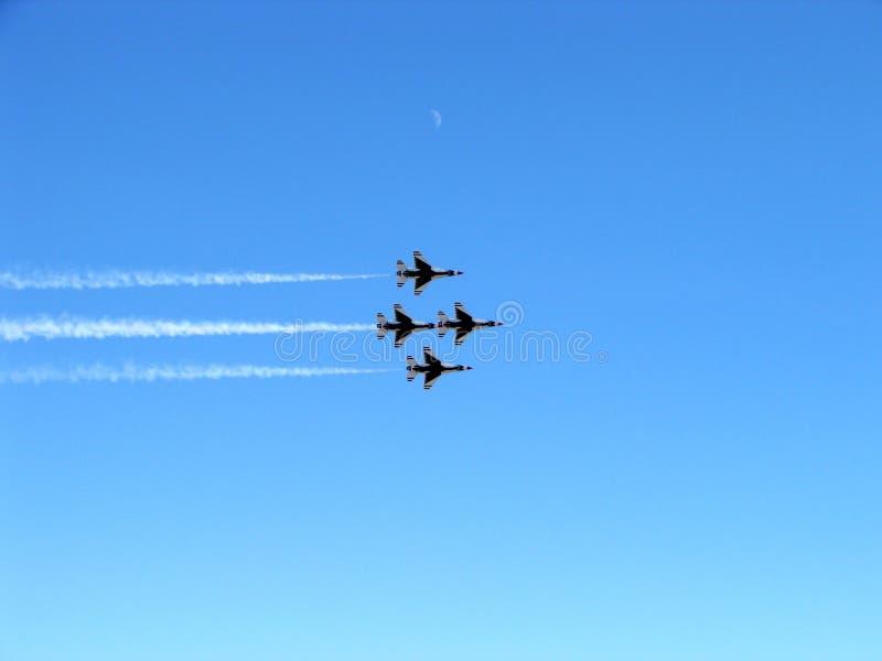 Thunderbirds immagini stock