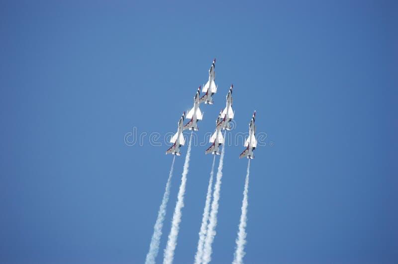 Thunderbirds royalty free stock photography