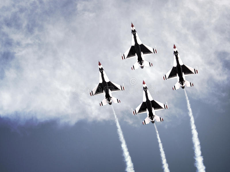 Thunderbirds royalty-vrije stock afbeelding