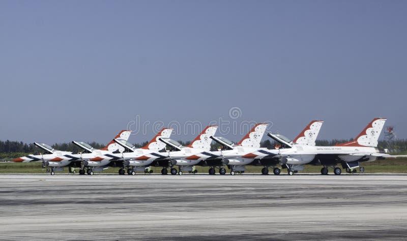 Thunderbirds 5 stock photography