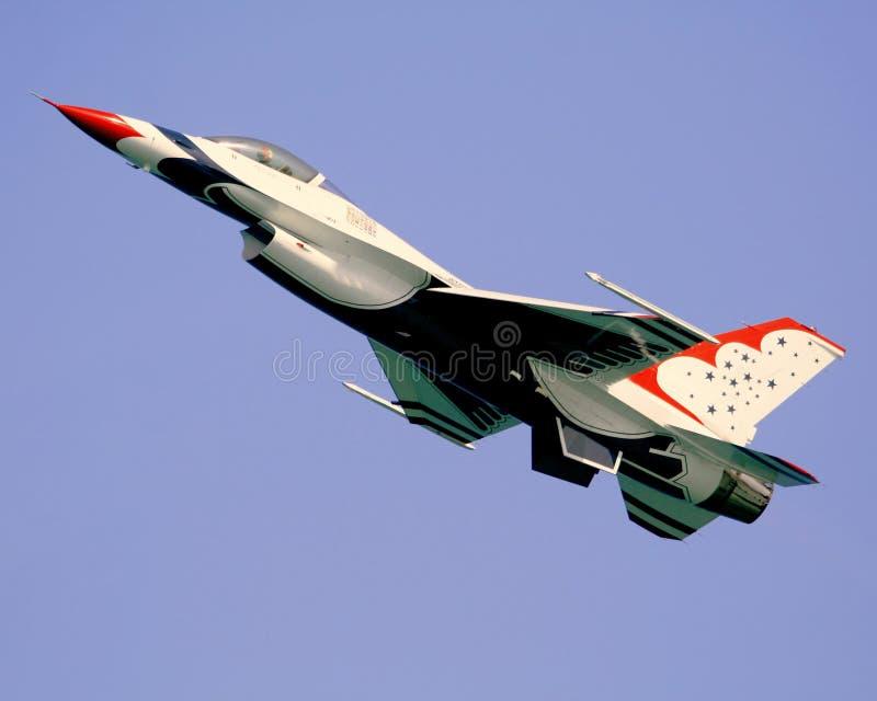 thunderbirdsU.S.A.F. royaltyfria bilder