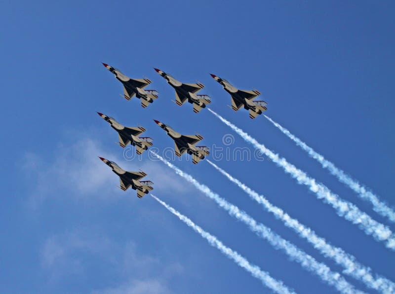 Thunderbirdy zdjęcie royalty free