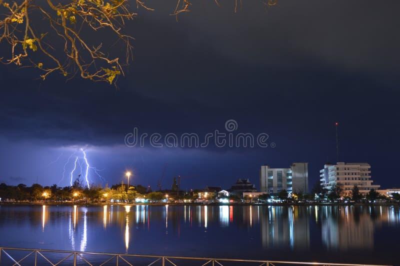 thunderbolt stockfoto