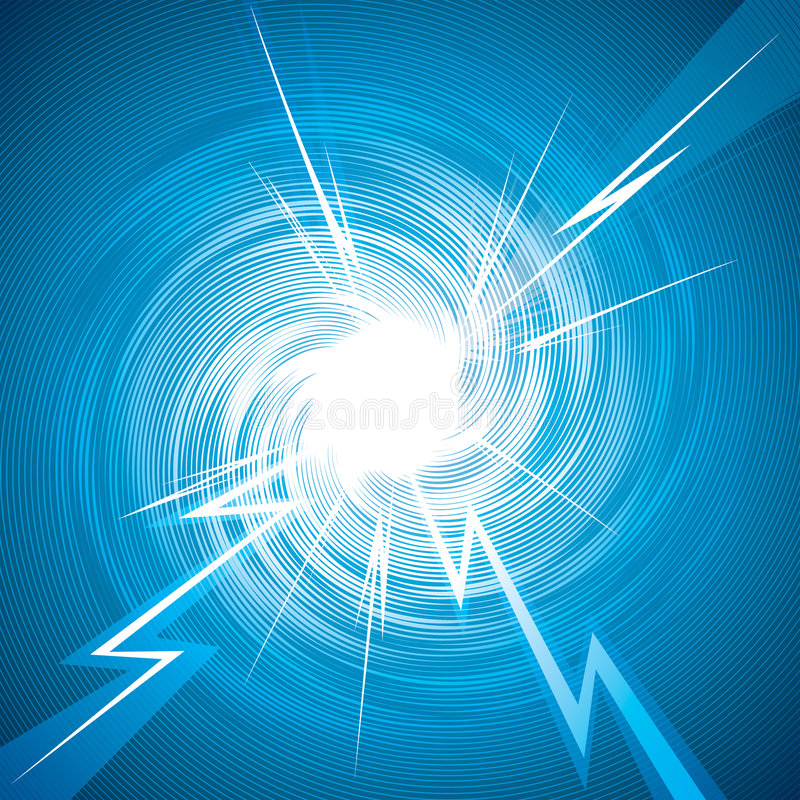 Download Thunderbolt stock vector. Image of effect, electric, detonation - 8280225
