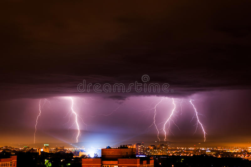 thunderbolt images stock