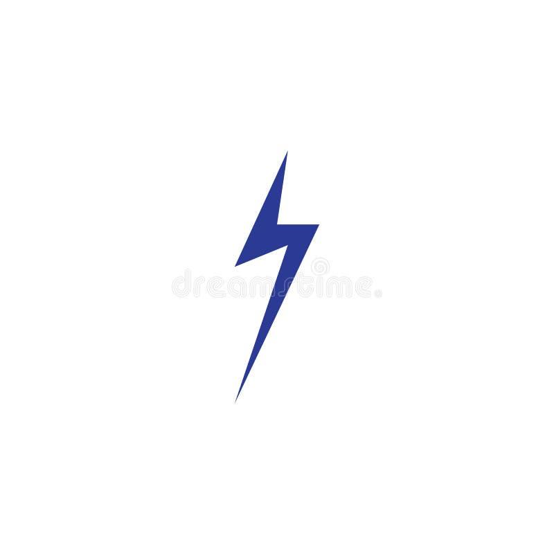 thunderbolt royaltyfri illustrationer