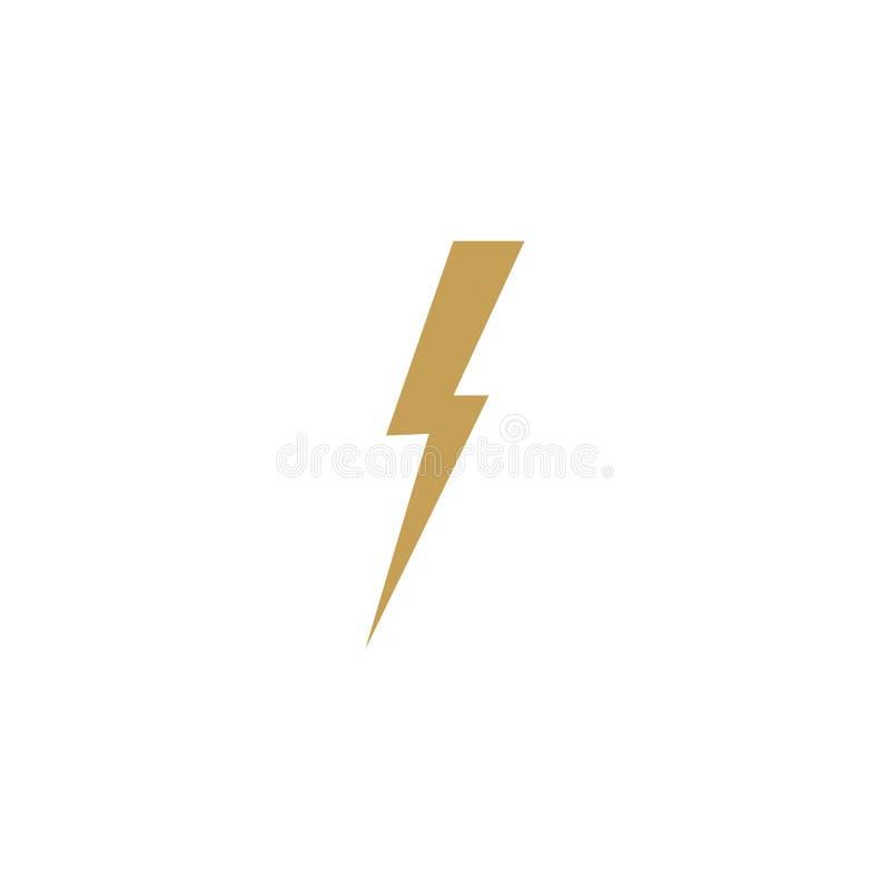thunderbolt ilustração stock