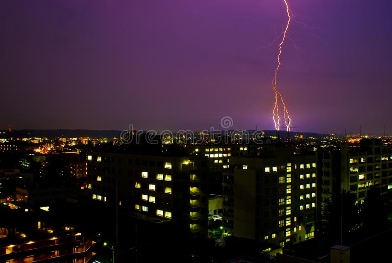 thunderbolt photographie stock