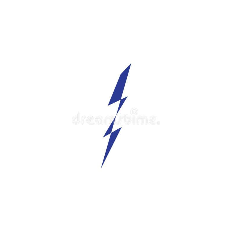 thunderbolt illustration stock