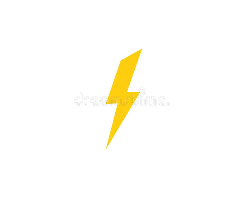 thunderbolt illustration libre de droits