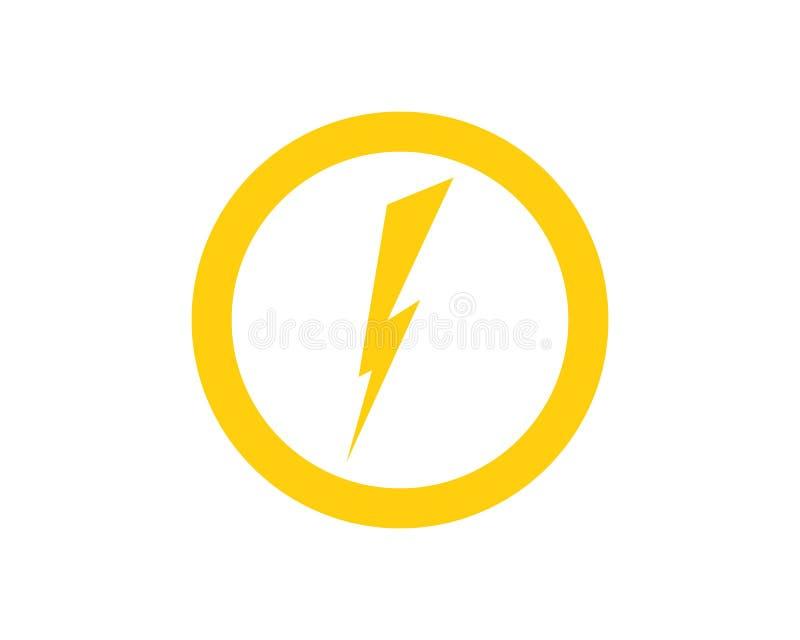 thunderbolt illustration de vecteur