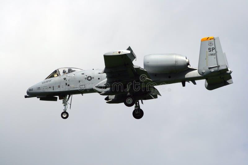 A-10A Thunderbolt II lizenzfreies stockbild
