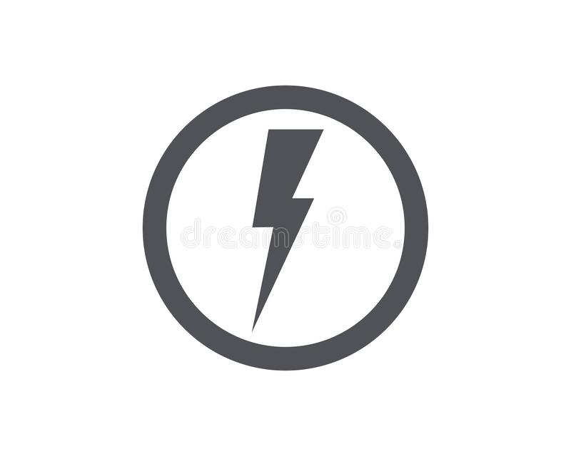 thunderbolt vector illustration