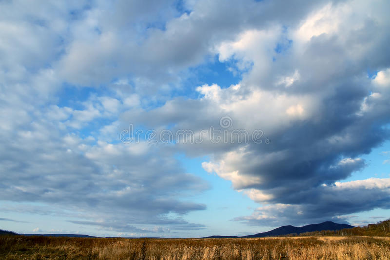 thundercloud arkivfoton