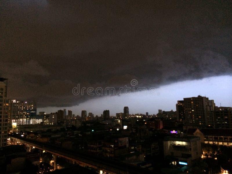 thundercloud lizenzfreies stockfoto