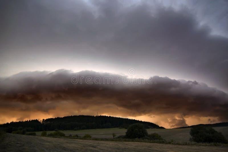 thunderclouds fotografia royalty free