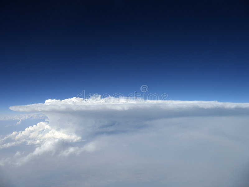 Download Thunderhead stock photo. Image of scenic, blue, calm, puffy - 1576674