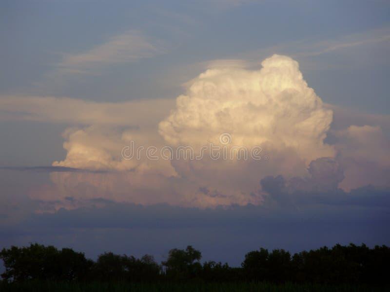 Thunderhead fotografia stock