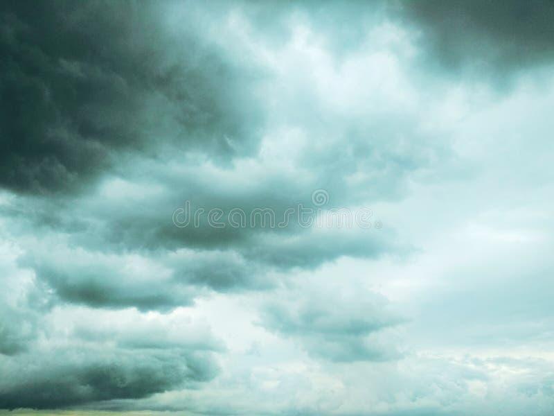 Thunderhead die drijft royalty-vrije stock afbeeldingen