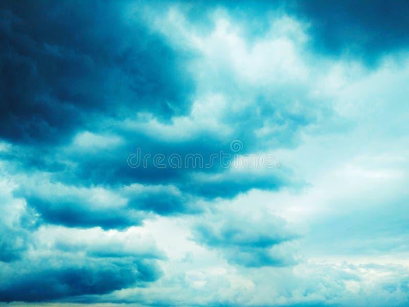 Thunderhead die drijft royalty-vrije stock foto