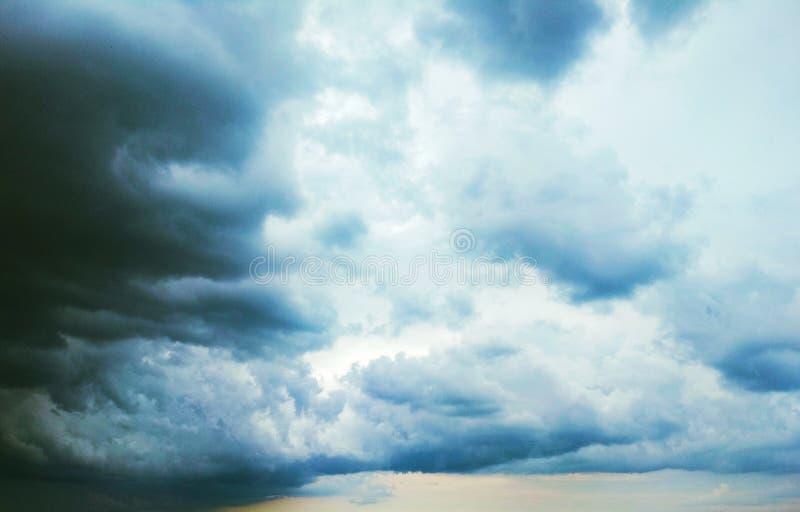 Thunderhead die drijft stock foto's