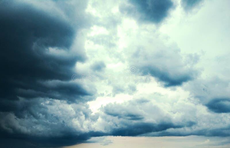 Thunderhead die drijft royalty-vrije stock afbeelding