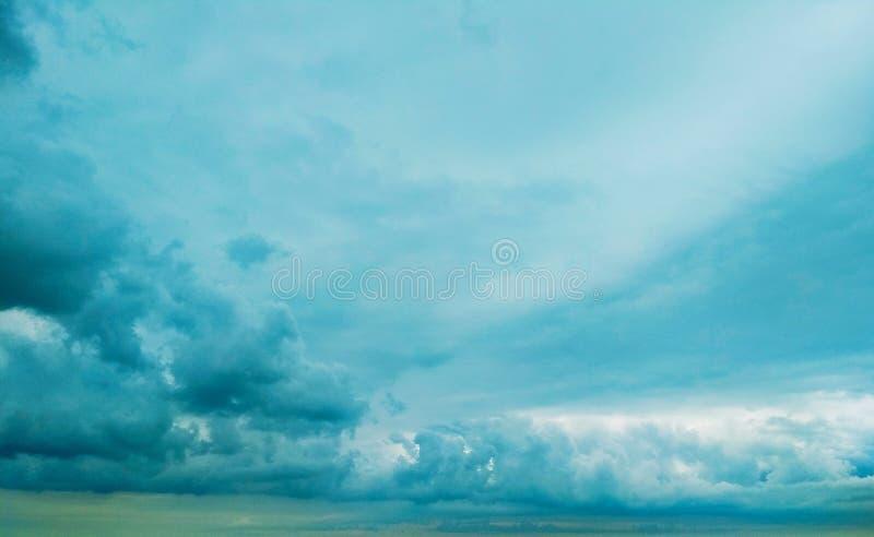 Thunderhead die drijft stock fotografie