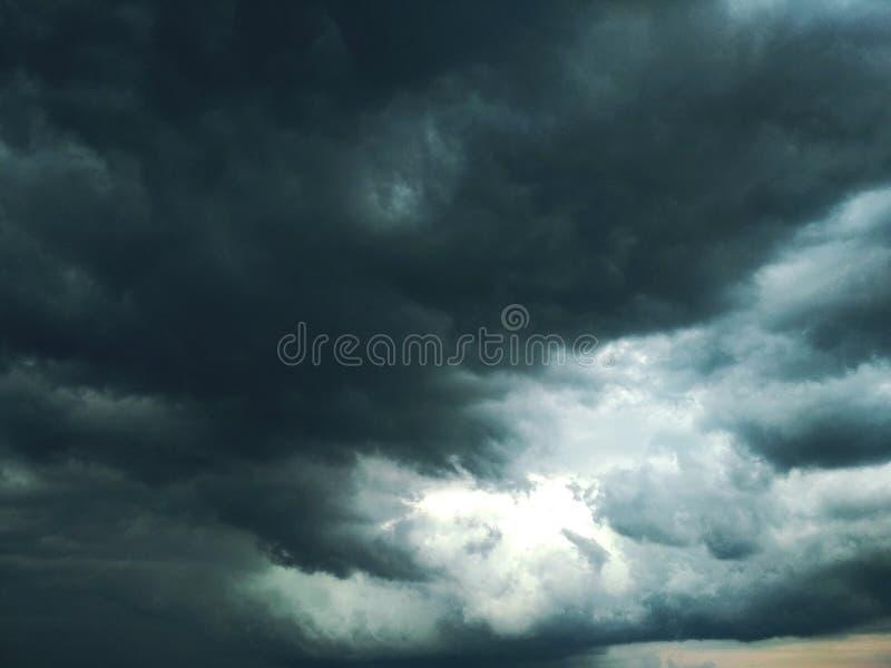 Thunderhead die drijft royalty-vrije stock fotografie