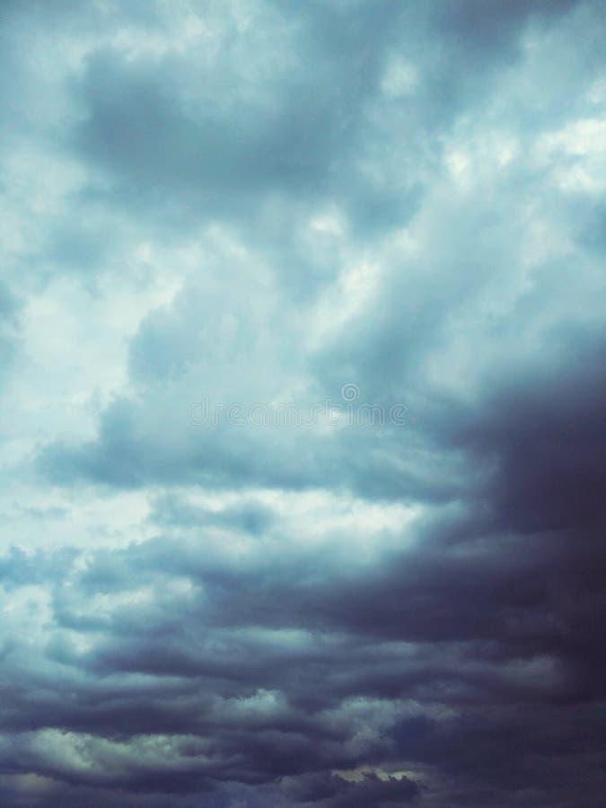 Thunderhead die drijft stock foto