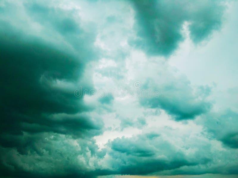 Thunderhead die drijft royalty-vrije stock foto's
