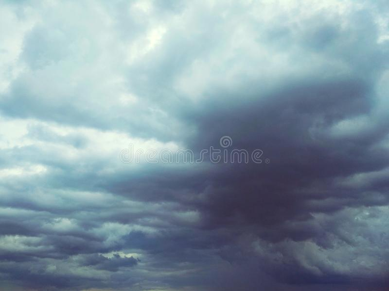 Thunderhead die drijft stock afbeelding