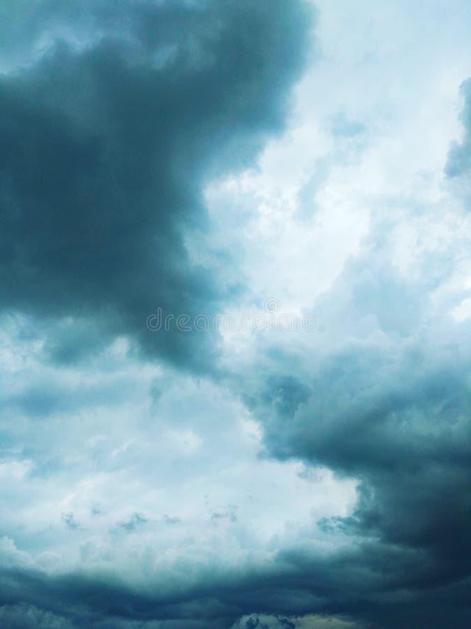 Thunderhead die drijft stock afbeeldingen
