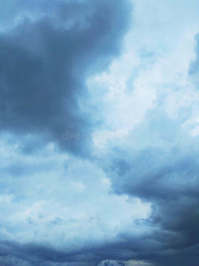 Thunderhead que está flutuando foto de stock
