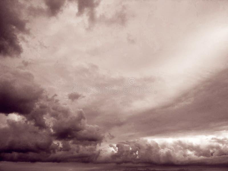 Thunderhead que está flutuando fotos de stock
