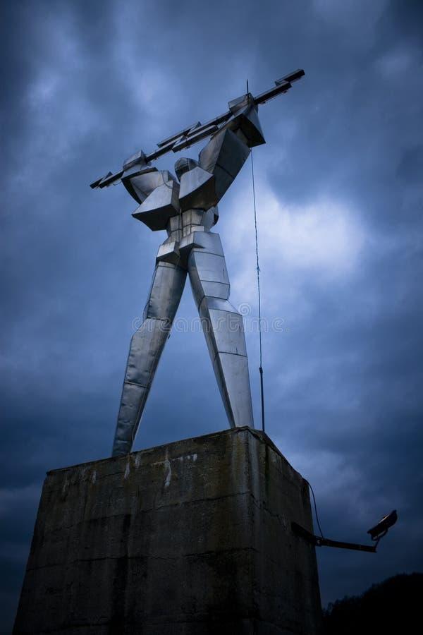 Free Thundering Robot Statue Stock Photo - 2517280