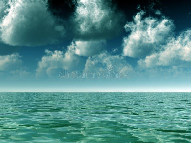 Thunderstorm ερχομός στοκ φωτογραφία με δικαίωμα ελεύθερης χρήσης