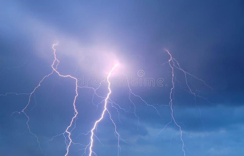 thunderstorm ουρανού αστραπής στοκ εικόνες
