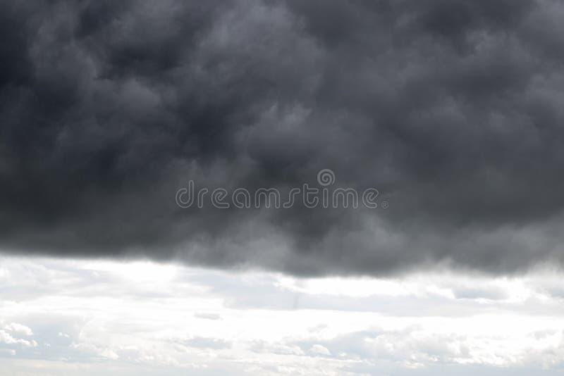 thunderstorm fotografia stock