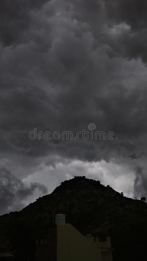 thunderstorm immagine stock